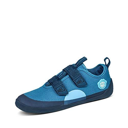Affenzahn Barfußschuh, Schuh für Jungen und Mädchen - Bär, Blau,26 EU