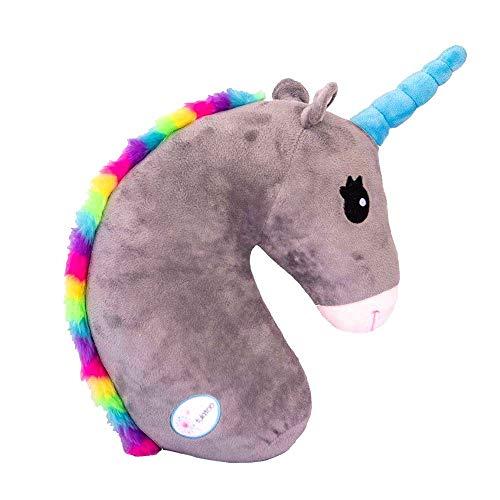 Delmkin Finoki - Almohadilla para cinturón de seguridad con diseño de unicornio