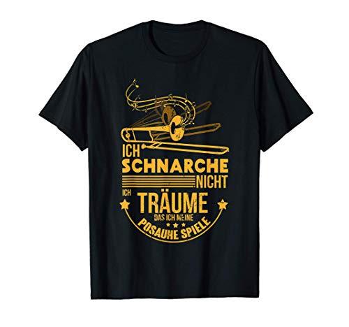 Posaunist & Posaune Geschenk mit Spruch | Posaunenspieler T-Shirt