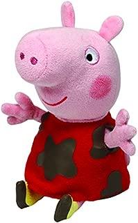 Ty Beanie Babies PeppaPig - muddy Peppa