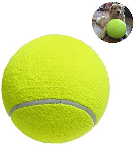 Juguete de perro de tenis grande de BIASTNR, bola de tenis gigante...