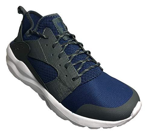 Avia Men's Ai Heel Support Athletic Sneaker, Blue (13 (M) US)