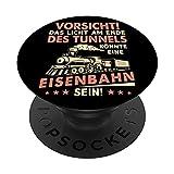 Precaución de luz al final del túnel podría ser PopSockets PopGrip Intercambiable