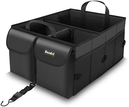Knodel Car Trunk Organizer Collapsible Auto Trunk Storage Organizer with Securing Straps Non product image
