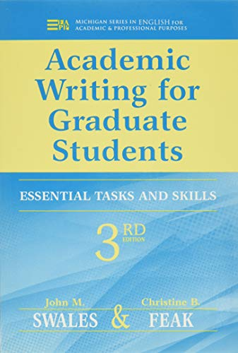 Academic Writing for Graduate Students: Essential Tasks and Skills (Michigan Series in English for Academic & Professional Purposes)の詳細を見る