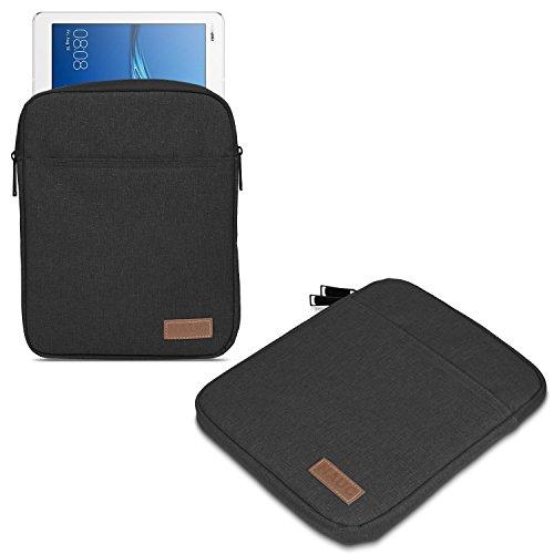 UC-Express Hülle Tasche kompatibel für ASUS ZenPad 10 ZD301ML Z301ML Z301MFL Z300M Tablet Schutzhülle Schwarz Grau Cover Hülle, Farbe:Schwarz