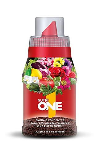NUTRIONE ONELI150 ONELI500 Engrais Premium Liquide Universel 150 ML Luxuriantes   pour Toutes Plantes et Fleurs, Croissance Equilibrée, 150ml