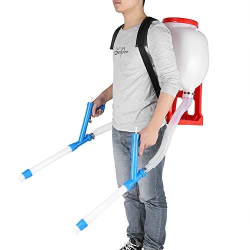 Cocoarm Düngerstreuer 20L Large Capacity Backpack Manueller Saatverteiler für Spreader Garden Seeding Tool
