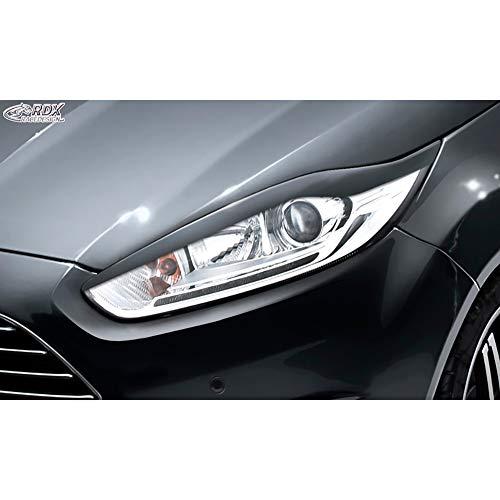 RDX Racedesign Scheinwerferblenden RDSB144 Fiesta VII Felift 2012-2017 (ABS)
