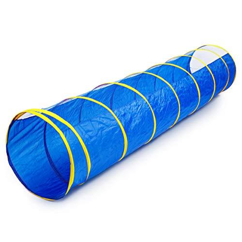 Generic Tunnel Polyester Bleu [Jouet]