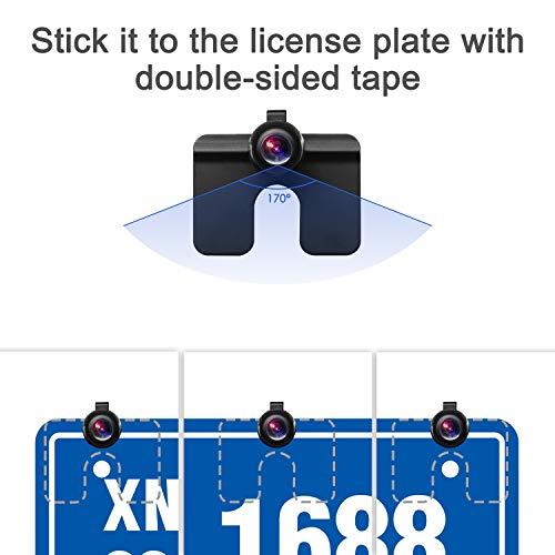 BOSCAM K3 Rückfahrkamera und Monitor Set Wired Rückfahrkamera mit Stabiler Signalübertragung, 14.4 cm/4.3