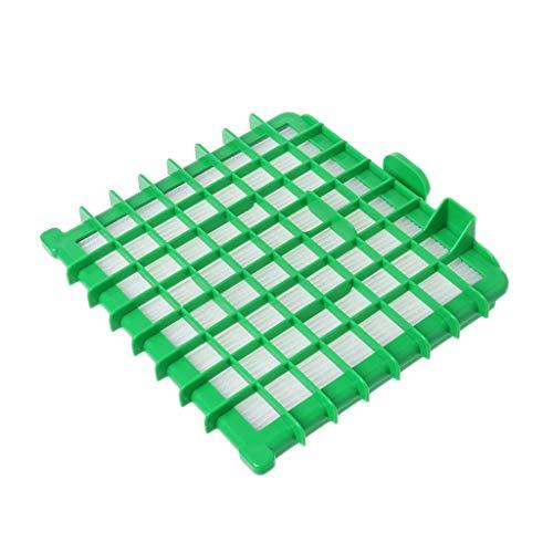 fivekim Accessoire de Filtre HEPA pour aspirateur pour Rowenta Silence Force ZR002901 Filtre d'aspirateur Vert et Blanc