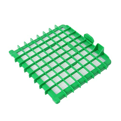 smallJUN Filtre pour aspirateur Hepa Accessoire pour Rowenta Silence Force Zr002901 Filtre pour aspirateur Vert et Blanc