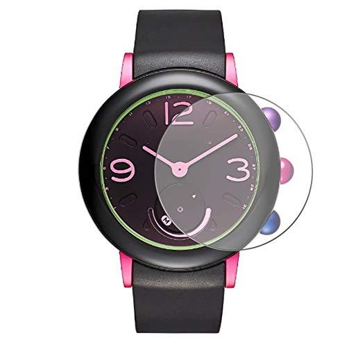 Vaxson 3 stuks 9H pantserglasfolie compatibel met Marc Jacobs Riley HYBRID pantserglas beschermfolie schermbescherming intelligente horloge armband smartwatch