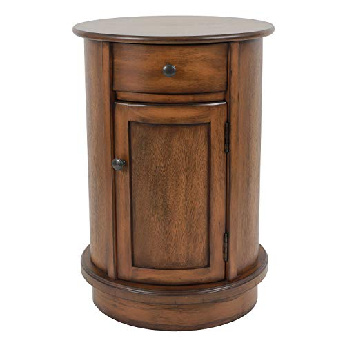 Decor Therapy Side Table, Honeynut Brown