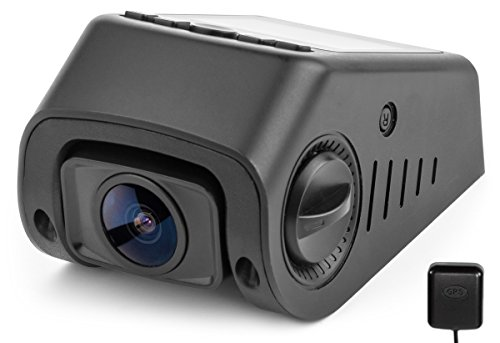 Black Box B40-C Capacitor GPS Stealth Dash Cam - Covert Versatile Mini A118 Full HD 1080P Car DVR - 170° Super Wide Angle 6G Lens - 160°F Heat Resistant - G-Sensor WDR Night Vision Motion Detection