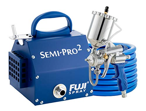Fuji 2203G Semi-PRO 2 - Gravity HVLP Spray System, Blue