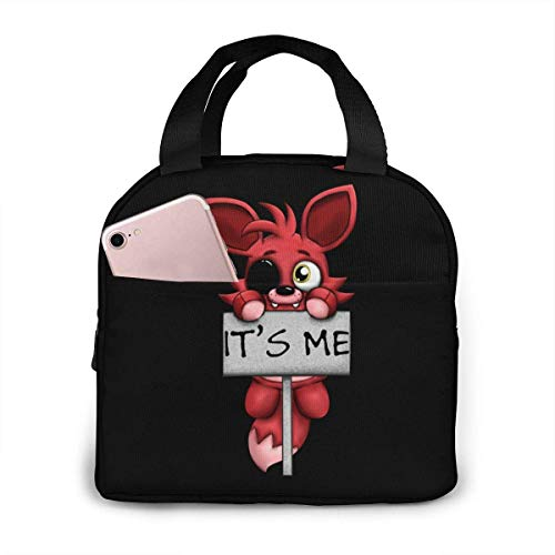 Portable Lunch Bag Foxy It's Me Reusable Insulated Lunch Bag Camping Bag Portable Tote Box Meal Prep Or Travel