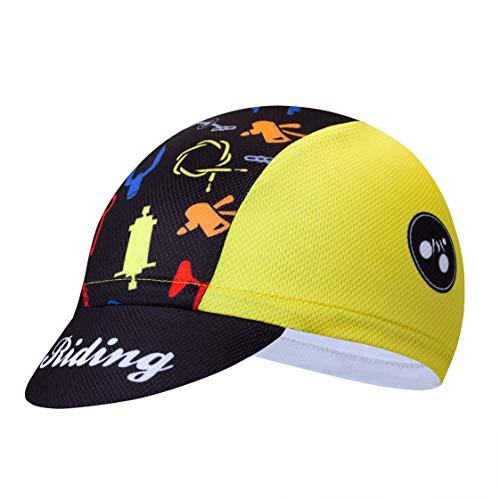 weimostar Ciclismo Gorras Hombres Mujeres Carretera MTB Bicicleta Sombreros Headwear Sun UV...