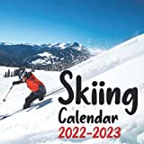 Skiing Calendar 2022-2023: 24 Month Calendar From January 2022 to December 2023, Home And Office Calendar For Skiing Lovers