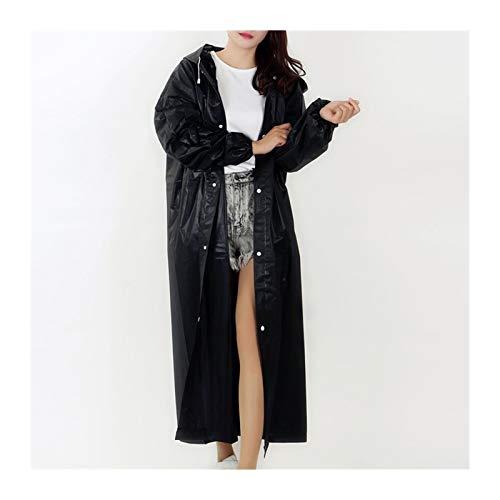DHDHWL Regenmantel für Damen und Herren, schwarz, Regenkleidung mit Kapuze, Poncho für Motorrad, Regenbekleidung für Erwachsene, transparent, tragbar, Regenjacke (Farbe: Violett, Größe: 145 x 68 cm)
