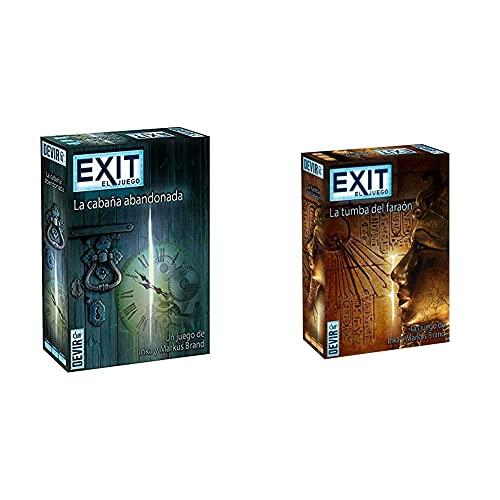 Devir Exit: La Cabaña Abandonada, Ed. Español (Bgexit1) + Exit: La Tumba del Faraón, Ed. Español (Bgexit2)