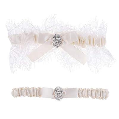shinyis Wedding Garter ?Bridal Garter,Toss Garter and Keepsake Garter for Bride Dress