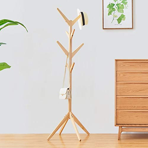 Youyijia Wooden Tree Coat Stand