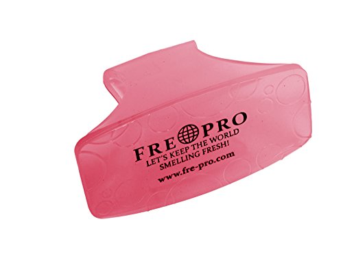 Fre-Pro Bowl Clip - Duftspender/Lufterfrischer für Damen-Toiletten - Kiwi Grapefruit, 1 Stück