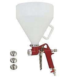 powerful Air Hopper with Texture Paint Tool 1.5 Gallon Super Deal Spray Gun Drywall Wall Mount Spray Gun 3…