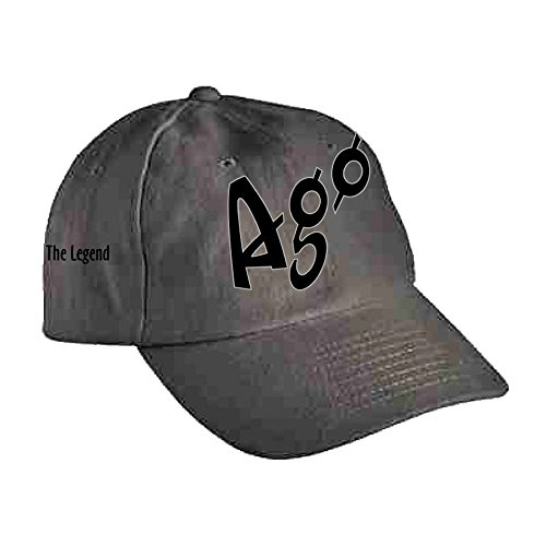 Agostini Collection Casquette Legend Dark Gris