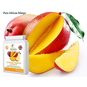 Pure African Mango Capsules / 60 High Strength 18,000mg African Mango Extract Capsules/High in Dietary Fibre/Weight Management Support Supplement/Vegan and Vegetarian Friendly