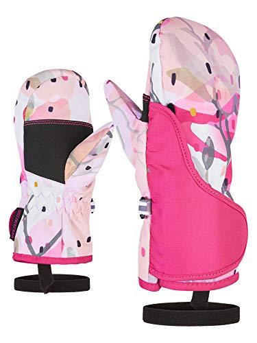 Ziener Baby LUKI MINIS glove Ski-handschuhe/Wintersport, spring flower print, 92cm