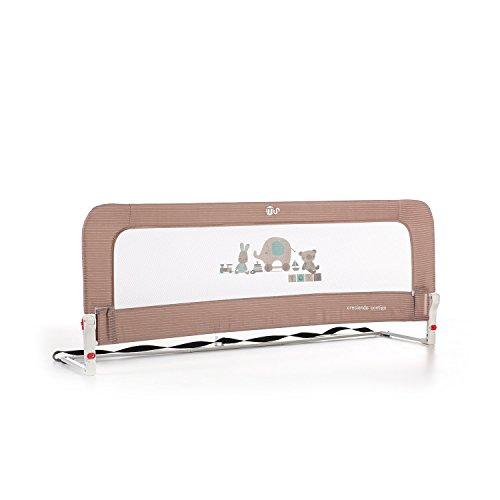 Innovaciones Ms Nido 3013 - Barrera para cama de 2 alturas Abatible , 50 x 30 x 150 cm, Beige