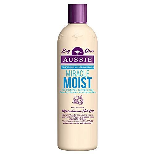 Aussie Miracle Moist Conditioner für Durstiges Haar, 400ml