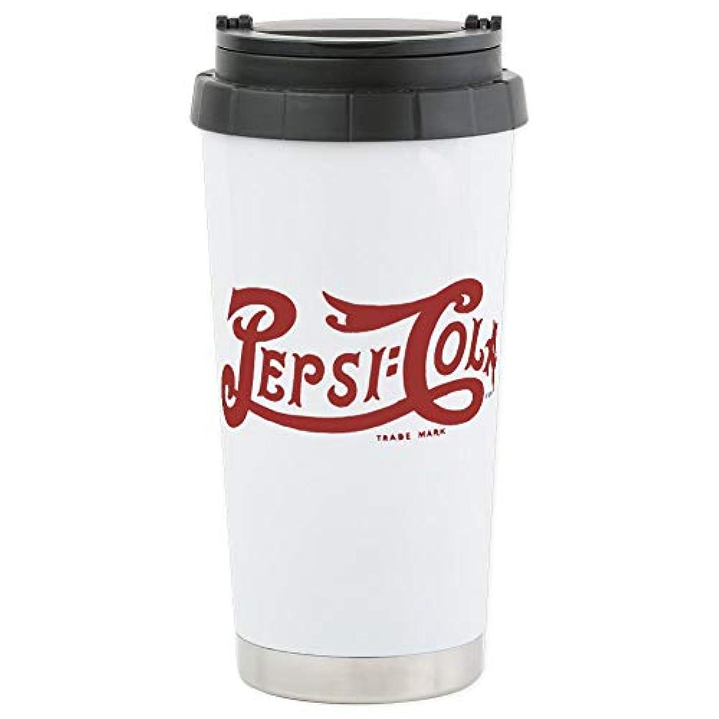 CafePress Pepsi Mugs Stainless Steel Travel Mug, Insulated 16 oz. Coffee Tumbler