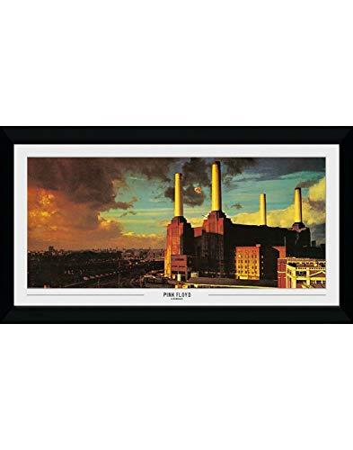 Le grand poster encadré de Animals pour fans de Pink Floyd