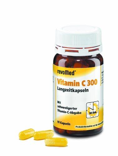 Vitamin C 300 Langzeitkapseln unterstützen das Immunsystem
