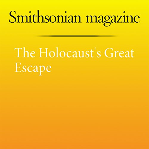 The Holocaust's Great Escape cover art