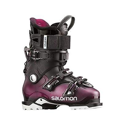 Salomon QST Access 80 Womens Ski Boots Purple/Translucent Black/Burgundy Sz 6/6.5 (23/23.5)