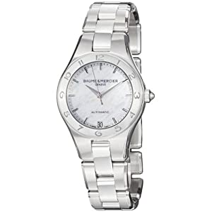 Baume Mercier Women's 10035 Linea Ladies Mother of Pearl Dial Automatic Watch image