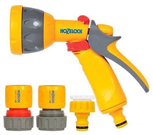 Hozelock Kit Pistolet Multi Spray Plus + raccords 19mm, Estándar, 24,5 x 18,2 x 6,7 cm