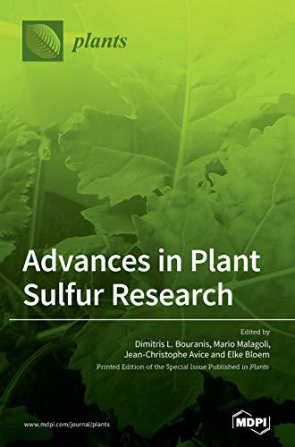 Advances in Plant Sulfur Research