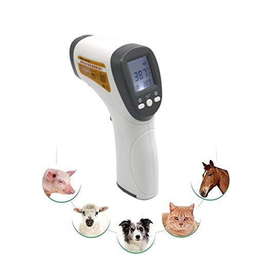 HHXX zeer nauwkeurige veterinaire thermometer, dier elektronische thermometer thermometer voor varkens, schapen, schapen, honden en andere huisdieren