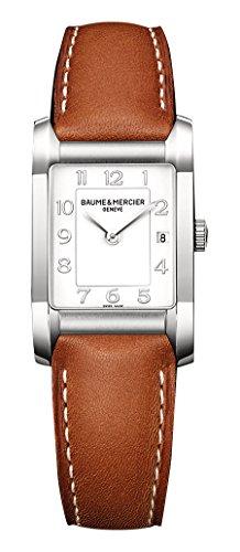 Baume&Mercier Reloj Analógico para Mujer de Cuarzo con Correa en Cuero M0A10186