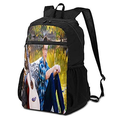 Shawn Peter Raul Mendes Paquete de almacenamiento para hombres y mujeres ultraligeras mochilas, camping, bicicletas al aire libre, mochilas de transporte plegables escolares