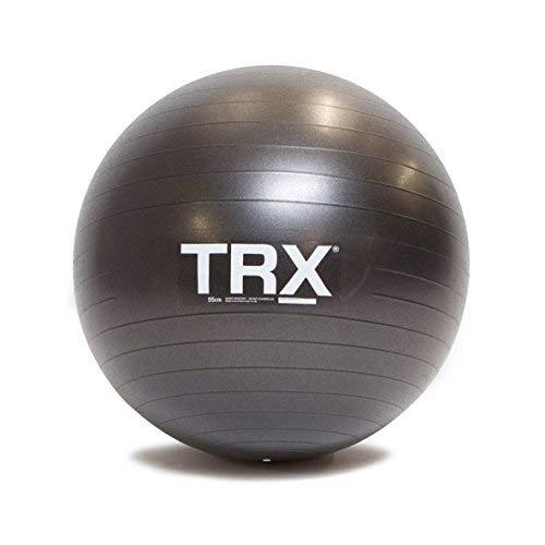 TRX Training Stability Ball, Prodotta artigianalmente con Vinile Durevole Anti-Scivolo (Diametro di 65 cm)