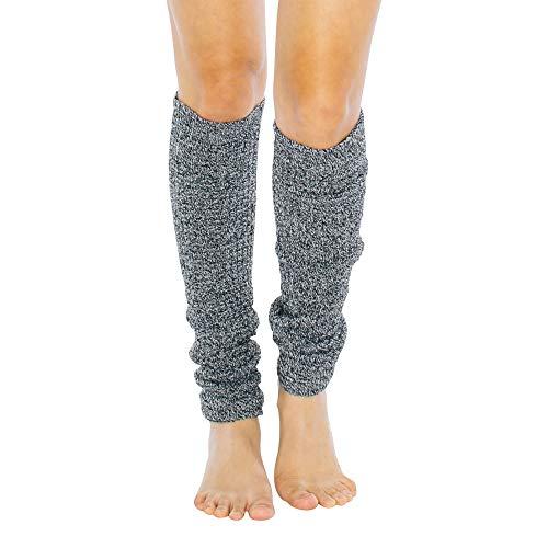 American Apparel Women's Long Legwarmer, Zebra, One Size