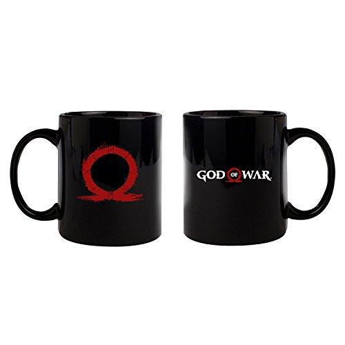 God of War - Taza, diseño con logotipo