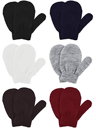(40% OFF) 6 Pairs Kids Warm Knitted Mittens $5.99 – Coupon Code